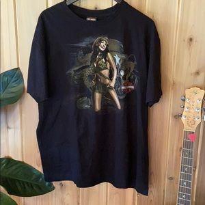 2018 Harley Davidson t-shirt